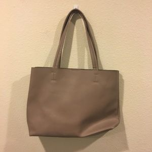 Sole Society light brown tote bag